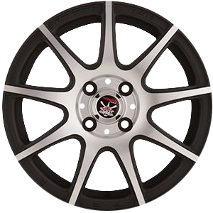 Диски Asikaga Esinori (VW) 7x17 5x112 ET49 57,1 BLACK BRILIANT 22