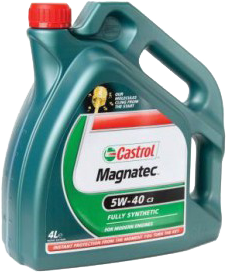 Масло моторное Castrol  Magnatec SAE 5w40 4л A3/B4(синт.).