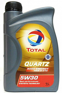 Масло моторное Total Quartz 9000 Energy HKS G-310 5w30 синт. 1л