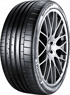 Шина Continental SportContact 6 225/35 R19 88Y